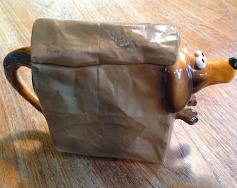 Doggy Bag Teapot 1993