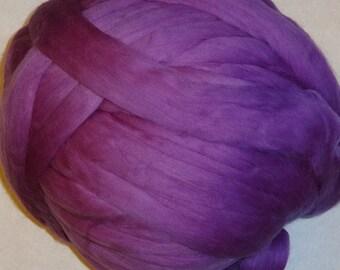 Wool Roving, Merino Roving, Merino Wool Roving, Ashland Bay, Merino Wool Roving Fiber for Spinning or Felting - Berry - 8oz