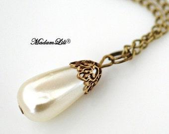 Cafe au Lait ll Bronze Necklace