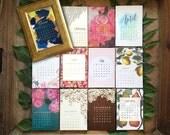 2017 Desk Calendar + Frame - desktop calendar - Assorted Designs