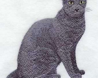RUSSIAN BLUE - Machine Embroidered Quilt Blocks (AzEB)