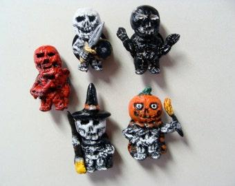 Skeletons Magnet Set B(fullbody/Cutie style)