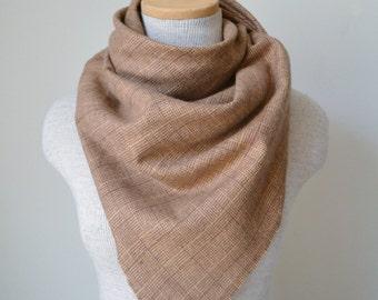 Blanket Scarf - Plaid Blanket Scarf - Tartan Flannel Scarf