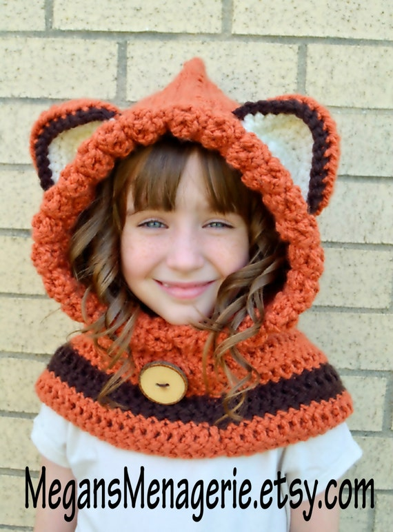 Free Crochet Pattern For Fox Cowl Dancox For