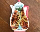 SALE: Vintage Seven Falls, Colorado Spoon Rest