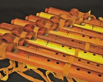 """Native American Style """"Backpacker"""" Flute from Tree of Life Designs"""