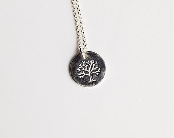 Tree of Life Necklace - Sterling Silver - Weddings | Bridesmaid Gifts | Thank You Gifts