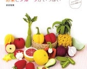 Handmade Felt Veggies - Japanese craft book