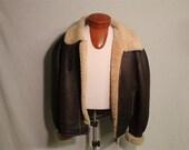 Reserved For Lucinda Bomber Aviation Leather Jacket