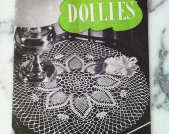 Doilies A Collection of Fascinating New Ideas Clark's O.N.T. J & P Coats Doilies How To Book 1947