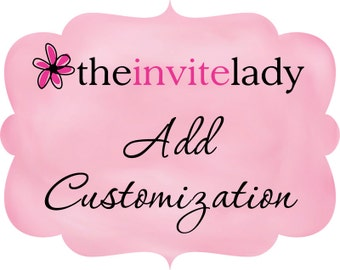 Customization add-on