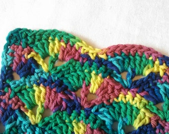 Rainbow Washcloth