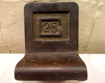 Antique Old Iron Weight