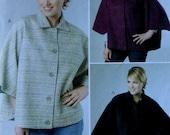 Cape Sewing Pattern UNCUT McCalls M6447 Sizes 18w-24w Plus Size