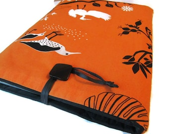 "Macbook pro 15"" Cover  Macbook Retina 13""  Case Orange Cotton  Bird Cover"