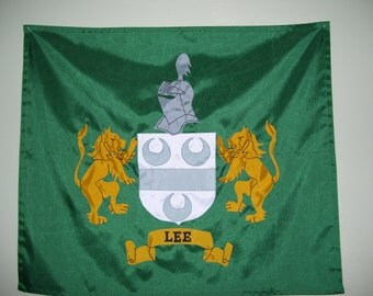 CUSTOM ONLY Coat of Arms/Family Crest Flags/Banners/Burgees