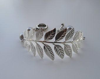 a touch of life bracelet - silver brass