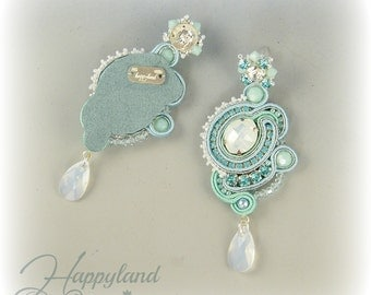 Colazione da ..., soutache earrings pattern