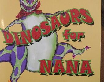"Kids Book, ""Dinosaurs for Nana"", funny childrens Story"
