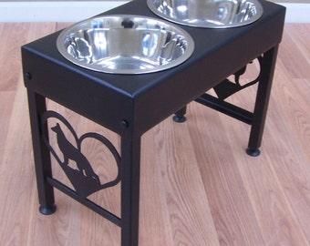 Elevated Dog Feeder Raised Bowls for German Shepherd