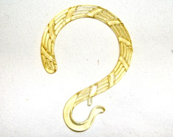Brass Tone Curtain Rings With Clips