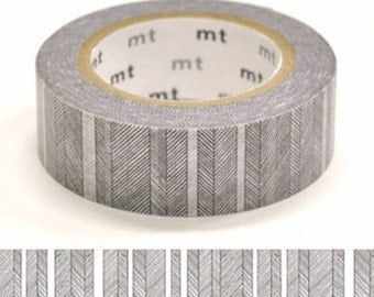 Hand Drawing Black and White Border Tape, DECO Series, Japanese mt Washi Paper Masking Tape, Collage, Wrapping, Chic Monochrome Art Design