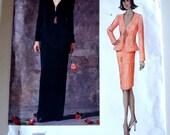 Vogue 2513 Guy Laroche Misses Jacket & Skirt Size 18-22 UNCUT
