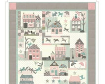 Raining Cats and Dogs 2028 House Village BOM Bunny Hill Pattern Set