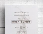 Golf Outing Invitation Golf Tournament Invitation