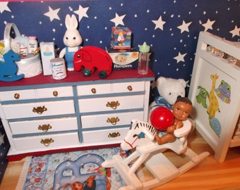 Baby Boy Nursery Shadow Box II