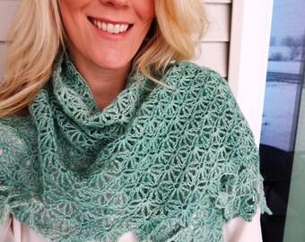 Bellamy Shawl ~ A Crochet Pattern
