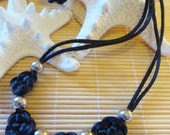 "Custom Order Udine33 : Original Design  17"" Chinese Hand Knotted Necklace"