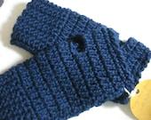 Warm, Soft and Comfortable crochet fingerless gloves.