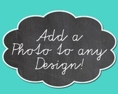 Add a Photo to Any Design Custom Photo Card Custom Invitations Printable Cards Picture Cards Family Photo Cards Photo Invitations Photo Card