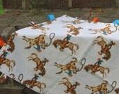 Cowboy Taggie Blanket
