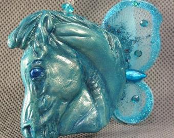 Horsenfeffer Fairy horse head Ornament