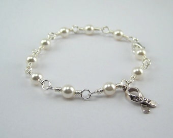 Mesothelioma Awareness Bracelet