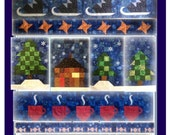 Block of The Month 2014 Complete Pattern Set 'Minnesota Winter Wonderland'