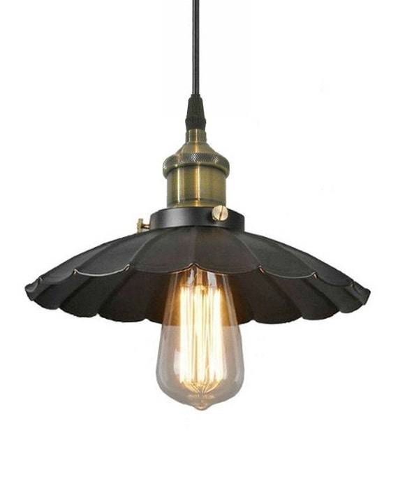 Just Reduced Rustic Handmade 3 Bulb Hanging Light Fixture Or: Industrial Light Pendant Hanging Island Ceiling By