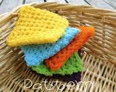 Tutorial- PDF- Scrub 'n Scour Pad- Nylon Net Scrubber- Crochet