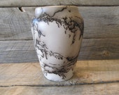 "Horse Hair Pottery 6"" Vase - Made in Wyoming"