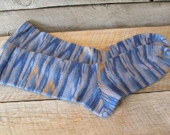 W 10-11, Superwash Wool Diabetic Socks, W 10-11, M 8-9 shoe size Ready to Ship Today!!