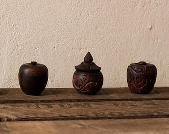 SAMPLES ALL 9 PERFUMES - Organic solid perfume Fragrance Aromatherapy Essential oil Hippie Boho Ceremony Cedar Paolo santo Myrrh Christmas