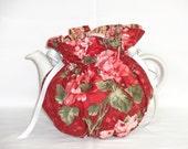 Pretty Floral  Reversible 6 Cup Teapot Cozy