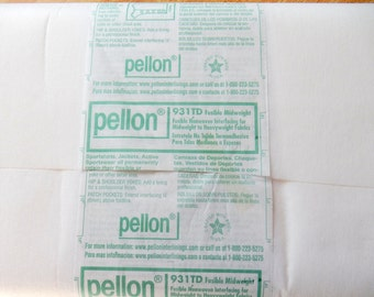 Pellon Fusible Nonwoven Interface for Midweight to Heavyweight Fabrics 931TD ONE YARD (91cm)