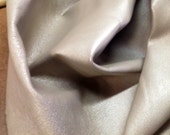 LB230.  Pearlized Taupe Lambskin
