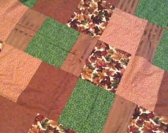 Fall Leaves Lap-size Quilt