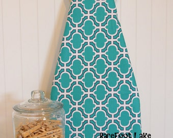 NEW! - Ironing Board Cover - Michael Miller Midnite Gems Heather Teal