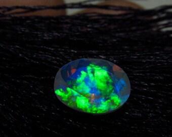 7x9 mm - Oval Cut - AAAAAAAAA - Ethiopian Welo Opal Super Sparkle Awesome Amazing Full Colour Fire