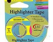Lee Products Removable Highlighter Tape Perfect for your charts!